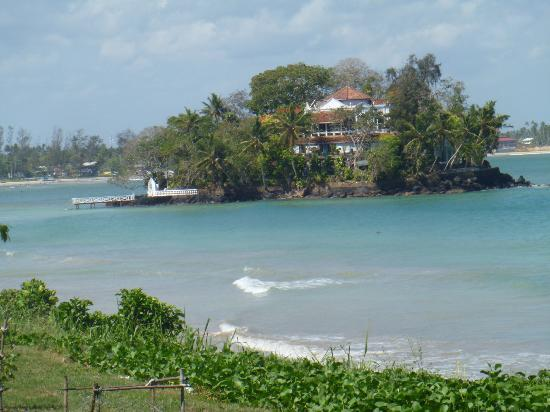 View To Island Picture Of Taprobane Island Weligama
