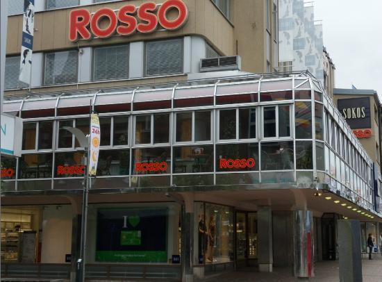 Rosso Kouvola : Restaurant Rosso, Walking street Manski, Kouvola