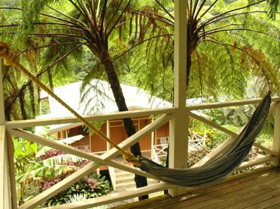 Casa Grande Mountain Retreat: Room view with hammock