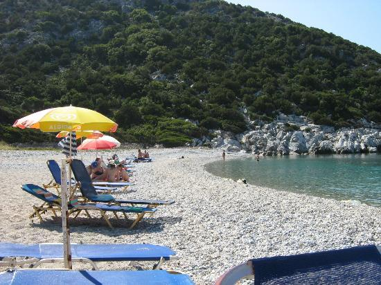 Glisteri Beach: The Sun Loungers