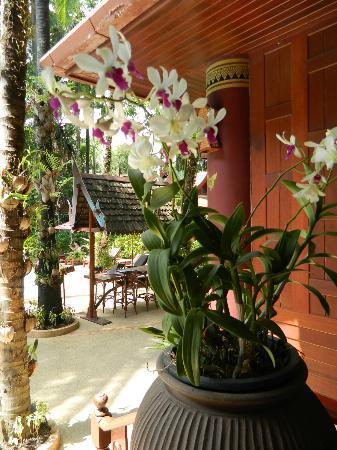 Royal Phawadee Village: fleur