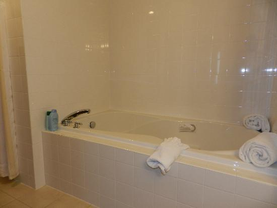 Hilton Garden Inn Dayton Beavercreek: tub