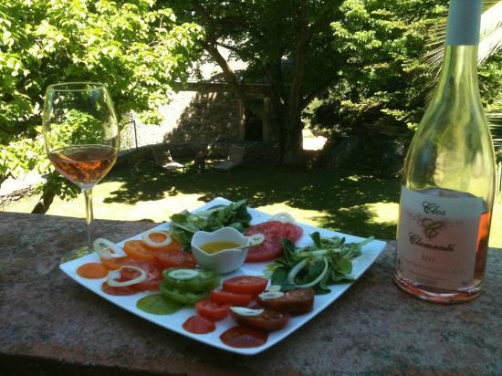 A Casa Di Anghjulu : Tomates du potager