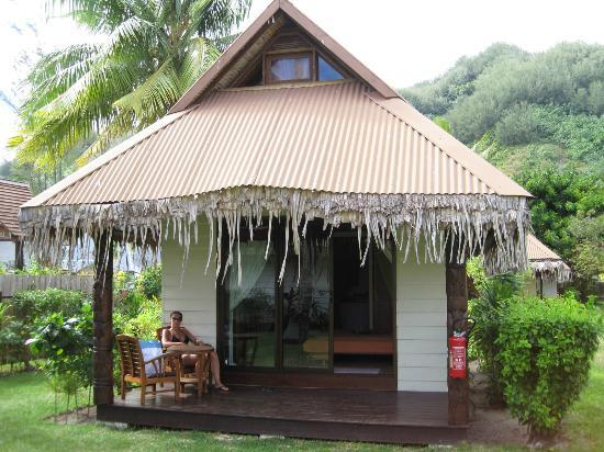 Hotel Fare Vaimoana: Ocean bungalow