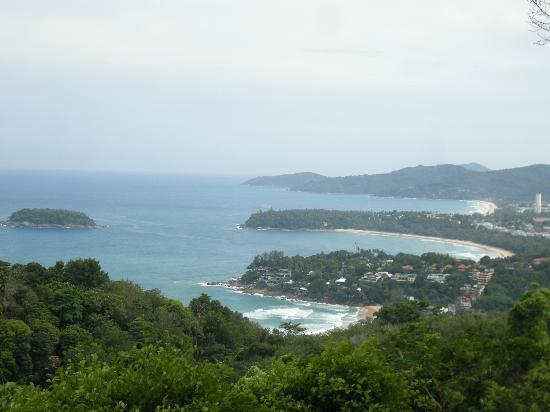 Sugar Palm Grand Hillside: viewpoint of 3 beaches
