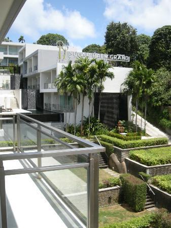 Sugar Palm Grand Hillside: view from balcony