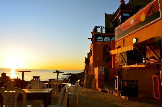 Argana bay social club : Coucher de soleil a voir absolument !!