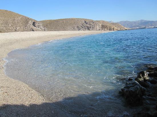 Playa de los Muertos: cristalina