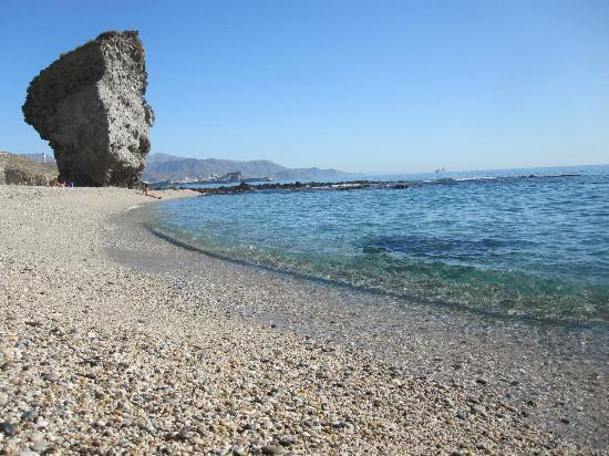 Carboneras, Spain: El tipo de arena es gruesa