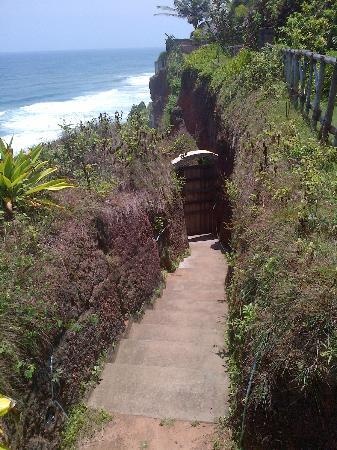 Oceano Cliff : Private access to the sea