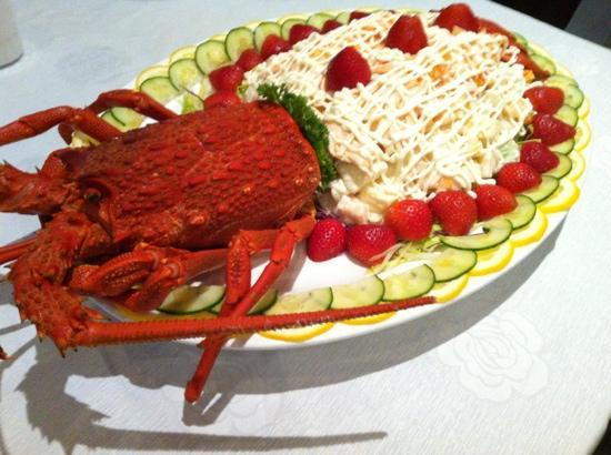Sun World Chinese Restaurant : cray fish salad