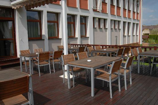Hotel Podhradie : Terrace