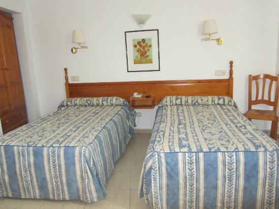 Hostal Centro: my bed, well two of them !