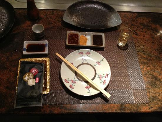 HaoZiWei XiBing: La tavola