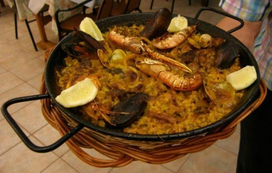 Binibeca, Ισπανία: A Paella