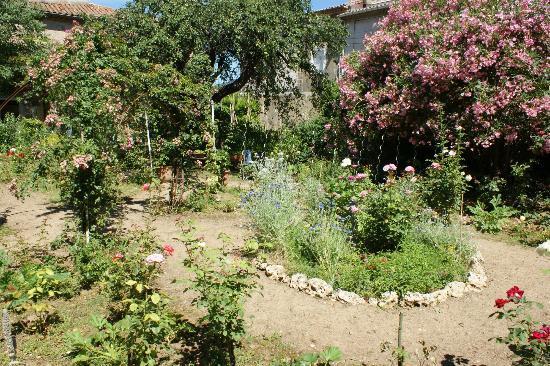 La Maison du Parc : le jardin