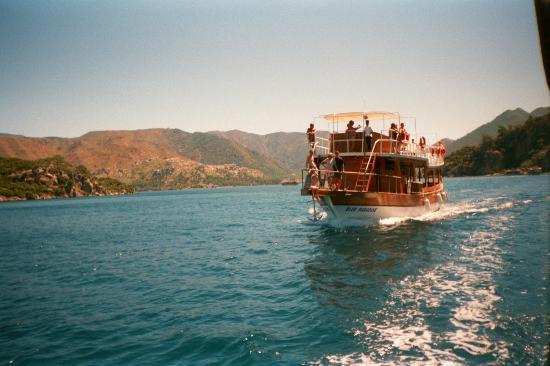 Playa de Oludeniz: Taking the boat from Icmeler