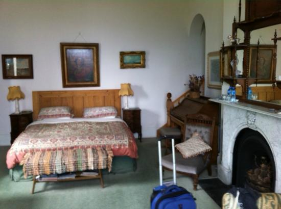 Druid Lodge: Half of our room