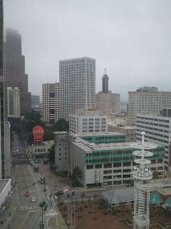 Fairfield Inn & Suites Atlanta Downtown: From Living Room Window