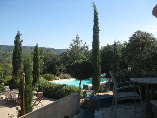 La Fontaine au Loup : Mooi uitzicht vanuit de kamers