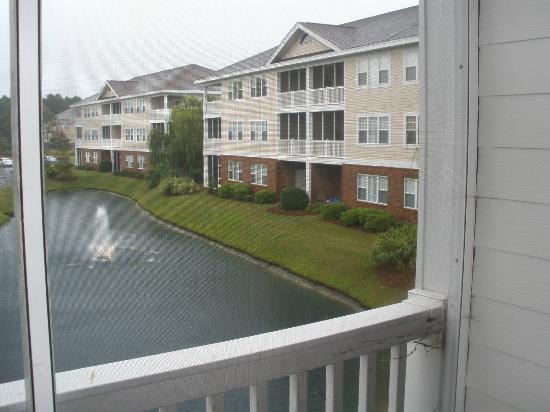 Barefoot Resort: Small Ponds by Condos, Balcony View