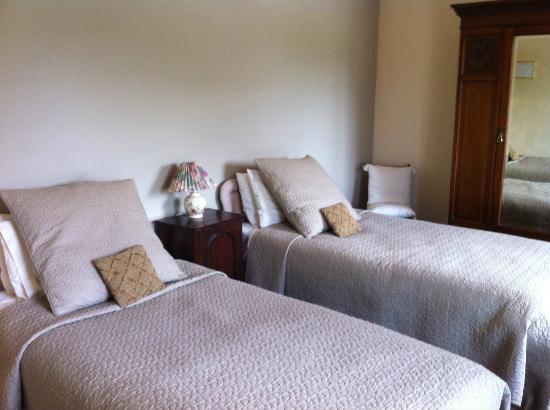 Bankfoot Inn: Twin room