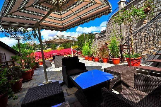 Lantana Resort & Spa : Terrasse panoramique