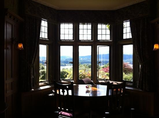 Holbeck Ghyll: view from dining room
