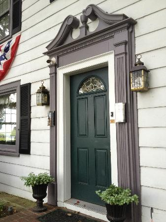 The Doubleday Inn: Front door of the B&B