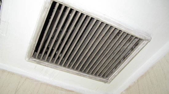 Amar Inn Hotel: The Vent in bathroom ( Uncleaned for ages)