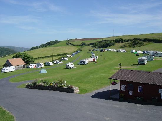 Higher Rew Caravan and Camping Park: Higher Rew Camping Park