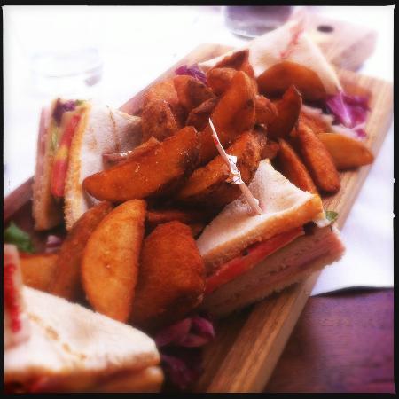 Hotel Cala Caterina : Club sandwich