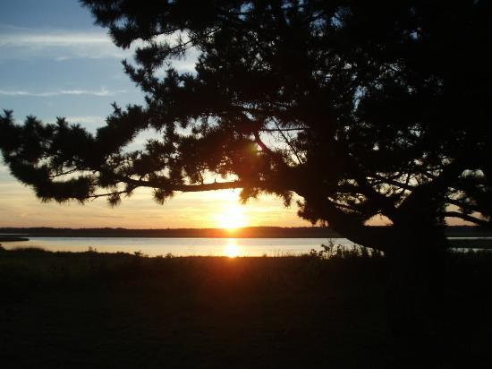 Salisbury Beach State Reservation Campground: sunset