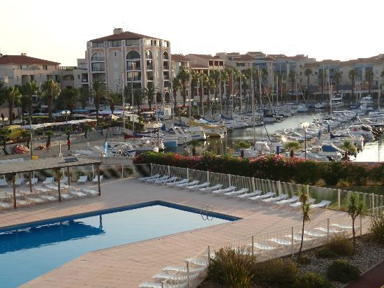 Tout Est Calme Le Matin Picture Of Residence Mer Golf Port - Residence port argeles