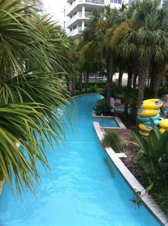 Destin West Beach and Bay Resort: Lazy River