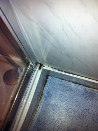Whiteways Guest House: MOULD IN BATHROOM