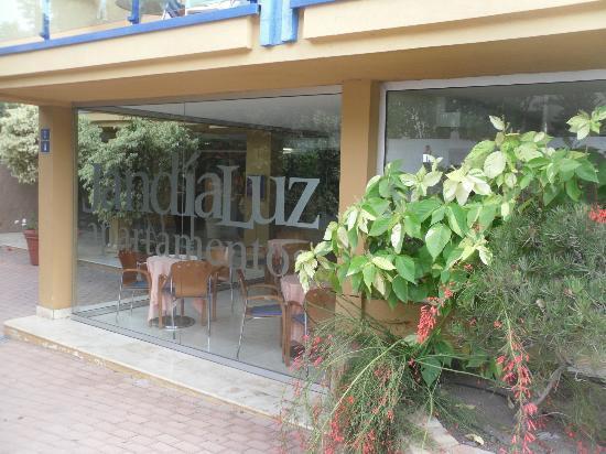 Relaxia Jandía Luz Apartamentos: ingresso su av. saladar