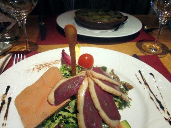 Hotel Auberge du Melkerhof : Salade Gourmande
