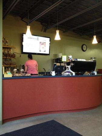 "SnowDome Coffee Bar: this is the ""restaurant"""