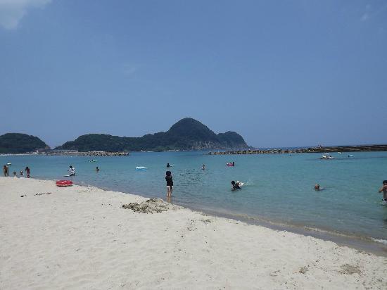 Takeno Coast : きれいな砂の海岸