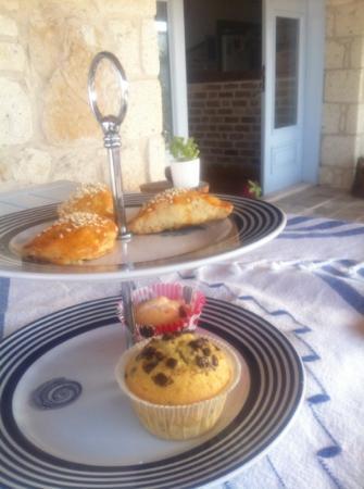 Moy Otel Alacati: il té con pasticcini