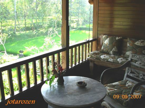 Cendana Resort and Spa: View from balcony