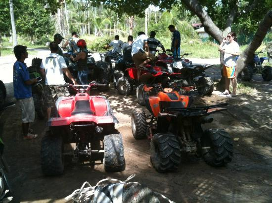 Samui Namuang ATV Park : ATV starting pt