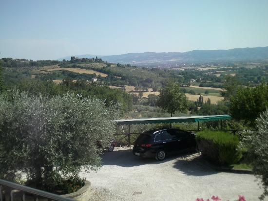 Agriturismo la Rocca Assisi: panorama