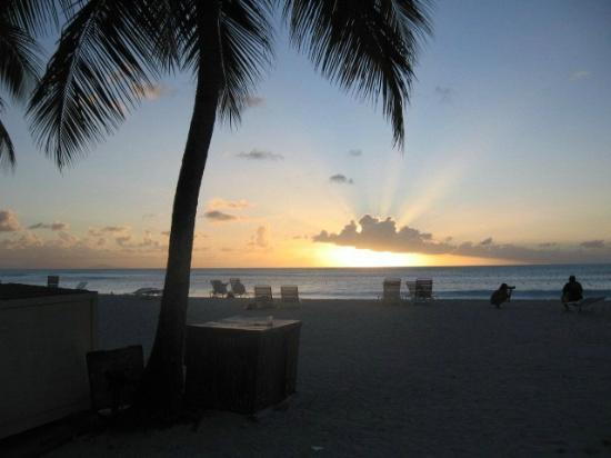 Jolly Beach Resort & Spa: coucher soleil