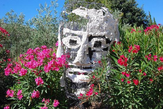 Jardin d'Alcinoos : nous passons la porte