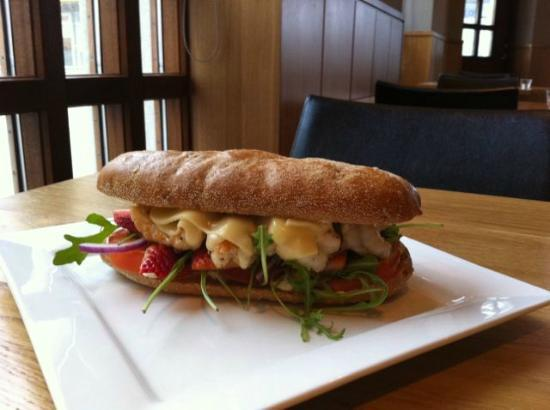 Gamla Kaupfelagid: Lobster sandwich