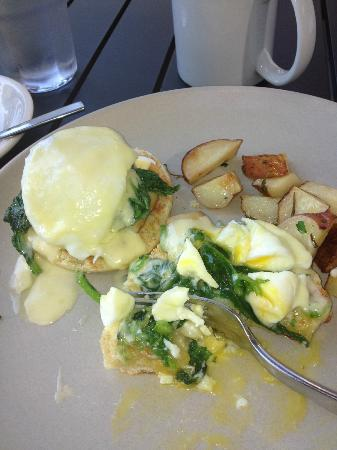 American Spoon: Fabulous Smoked Whitefish Eggs Benedict, the essence of Lake Michigan living in food form!