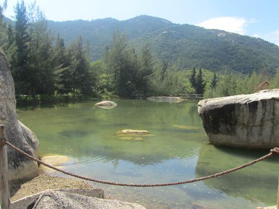 An Lam Ninh Van Bay Villas : le lagon