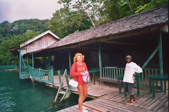 Blue Lagoon: Me and Jamaican guide